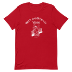 WILD AND WOOLLY VIDEO Original Logo Shirt Red