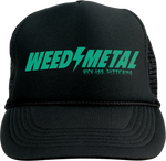 WEEDEATER Weed Metal Trucker Hat