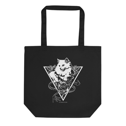 CAT MAGIC PUNKS Whip And The Kitty Tote Bag