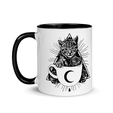 CAT MAGIC PUNKS Kitty Cup Mug