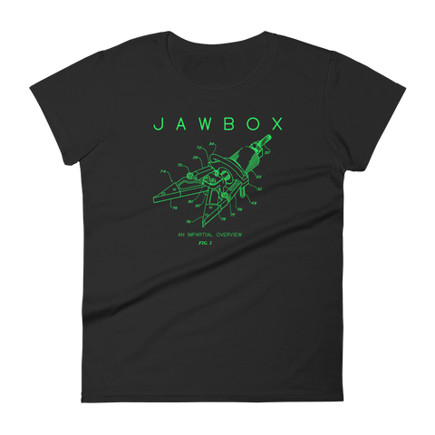 JAWBOX Diagram Women's Fitted Shirt