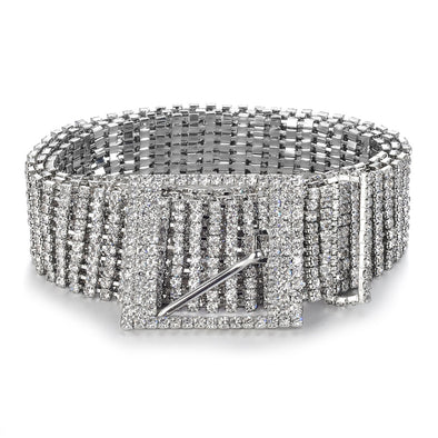 Luxury Rhinestone Bling Belt