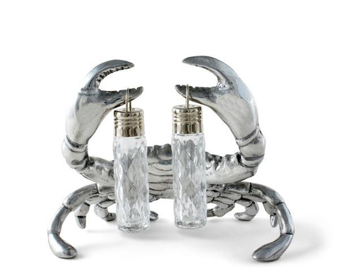 Crab Salt and Pepper Shakers