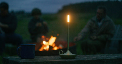 wick led candle