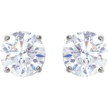 Load image into Gallery viewer, High Quality Platinum Diamond Stud Earrings Selections (1/3 CTW - 2 CTW) by Parker Edmond - ParkerEdmond