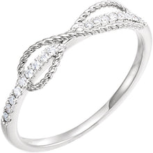 Load image into Gallery viewer, 50% OFF - Diamond Infinity - Inspired Ring by Parker Edmond