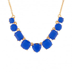 Les Néréides-9 ROYAL BLUE STONES LA DIAMANTINE NECKLACE by Parker Edmond - ParkerEdmond