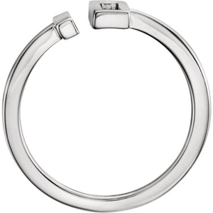 Minimalist Designed Bar Ring by Parker Edmond - ParkerEdmond