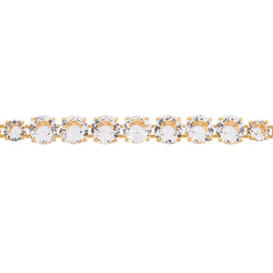Les Néréides - SINGLE ROW CRYSTAL DE LUXE BRACELET by Parker Edmond - ParkerEdmond
