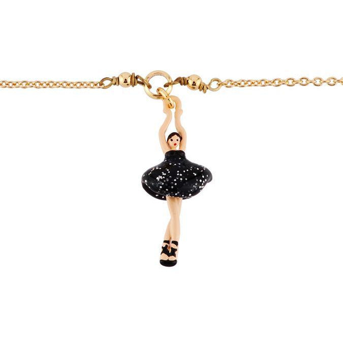 MINI PAS DE DEUX WITH WHITE BALLERINA BRACELET BY PARKER EDMOND - ParkerEdmond