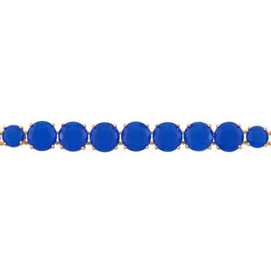Les Néréides-LA DIAMANTINE LUXURIOUS BLUE STONES THIN BRACELET by Parker Edmond - ParkerEdmond