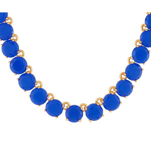 Les Néréides-LA DIAMANTINE BLUE STONES LONG NECKLACE by Parker Edmond - ParkerEdmond