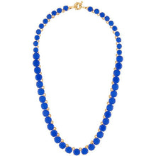 Load image into Gallery viewer, Les Néréides-LA DIAMANTINE BLUE STONES LONG NECKLACE by Parker Edmond - ParkerEdmond