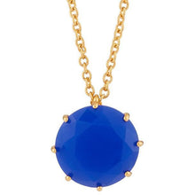 Load image into Gallery viewer, Les Néréides-ONE ROYAL BLUE STONE LA DIAMNATINE LONG NECKLACE by Parker Edmond - ParkerEdmond