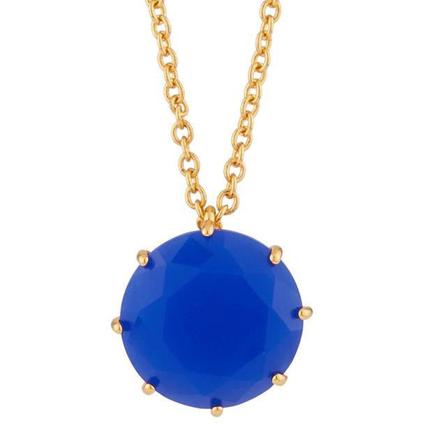 Les Néréides-ONE ROYAL BLUE STONE LA DIAMNATINE LONG NECKLACE by Parker Edmond - ParkerEdmond