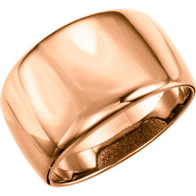 Load image into Gallery viewer, Elegant 14K Gold Dome Ring by Parker Edmond - ParkerEdmond