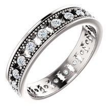 Load image into Gallery viewer, Spoil Her! with this Gold or Platinum 1/2 CTW Diamond Eternity Band