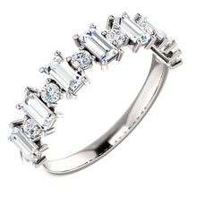 Load image into Gallery viewer, Stunning! Platinum 1 CTW Diamond Anniversary Band by Parker Edmond - ParkerEdmond