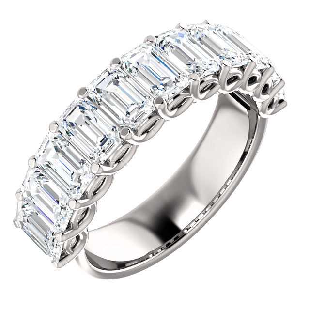 High Fashion Platinum 4 CTW Diamond Anniversary Band by Parker Edmond - ParkerEdmond