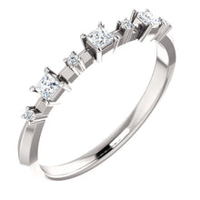 Load image into Gallery viewer, Stunning Platinum 1/6 CTW Diamond  Band by Parker Edmond - ParkerEdmond