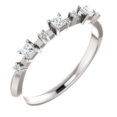 Stunning Platinum 1/6 CTW Diamond  Band by Parker Edmond - ParkerEdmond
