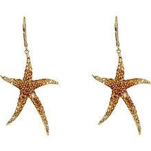 Load image into Gallery viewer, Stunning Summer Starfish Earrings by Parker Edmond - ParkerEdmond