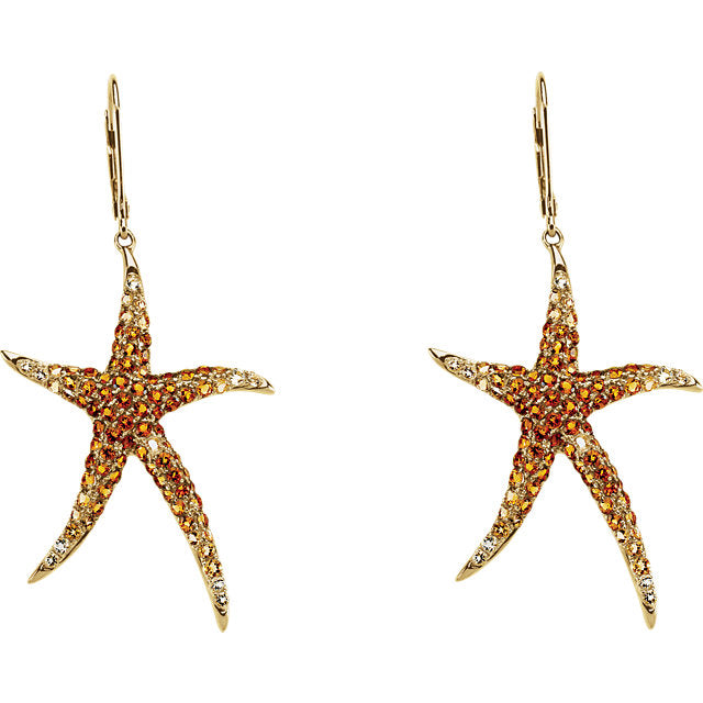 Stunning Summer Starfish Earrings by Parker Edmond - ParkerEdmond