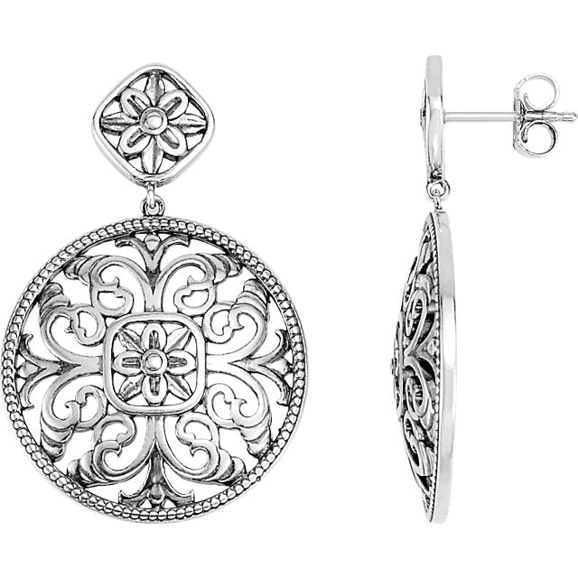 Orleans Collection Filigree Earrings by Parker Edmond - ParkerEdmond