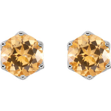 Load image into Gallery viewer, Your Choice of Colorful Topaz Earrings Faceted Swarovski Gemstones by Parker Edmond - ParkerEdmond