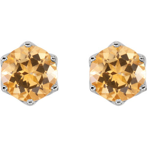 Your Choice of Colorful Topaz Earrings Faceted Swarovski Gemstones by Parker Edmond - ParkerEdmond