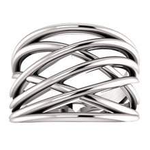 Load image into Gallery viewer, Criss-Cross Rings by Parker Edmond - ParkerEdmond