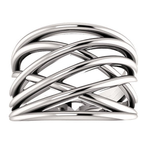 Criss-Cross Rings by Parker Edmond - ParkerEdmond
