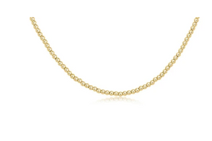 enewton | Choker Classic Gold 2mm Bead