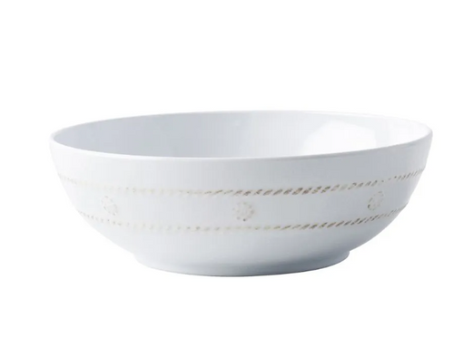 Al Fresco | Berry & Thread Melamine Whitewash Coupe Bowl