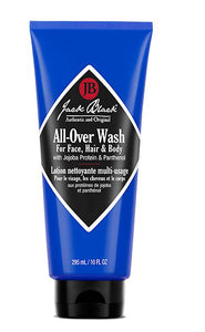 Jack Black |All-Over Wash for Face, Hair & Body with Jojoba Protein & Panthenol
