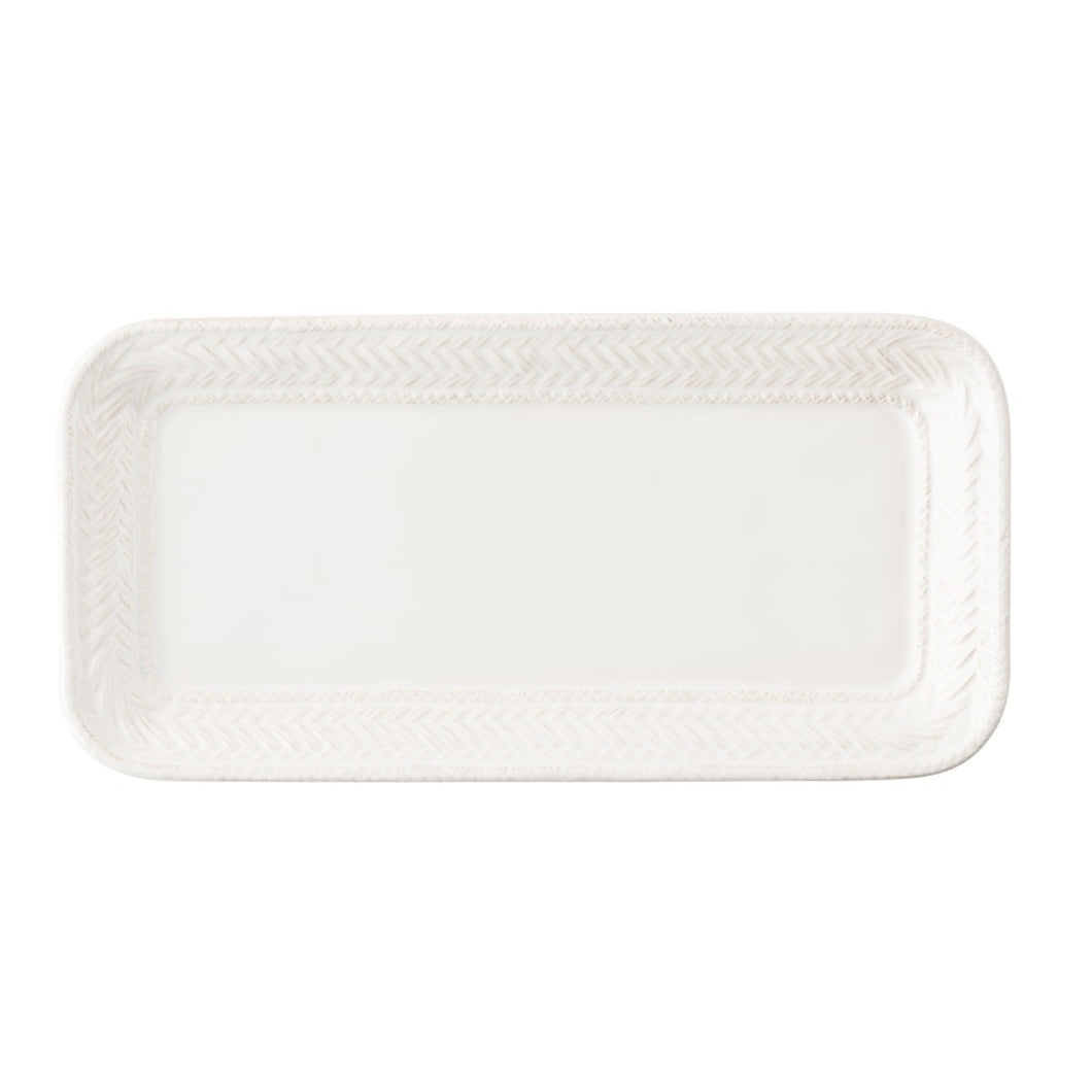 LE PANIER WHTIEWASH HOSTESS TRAY