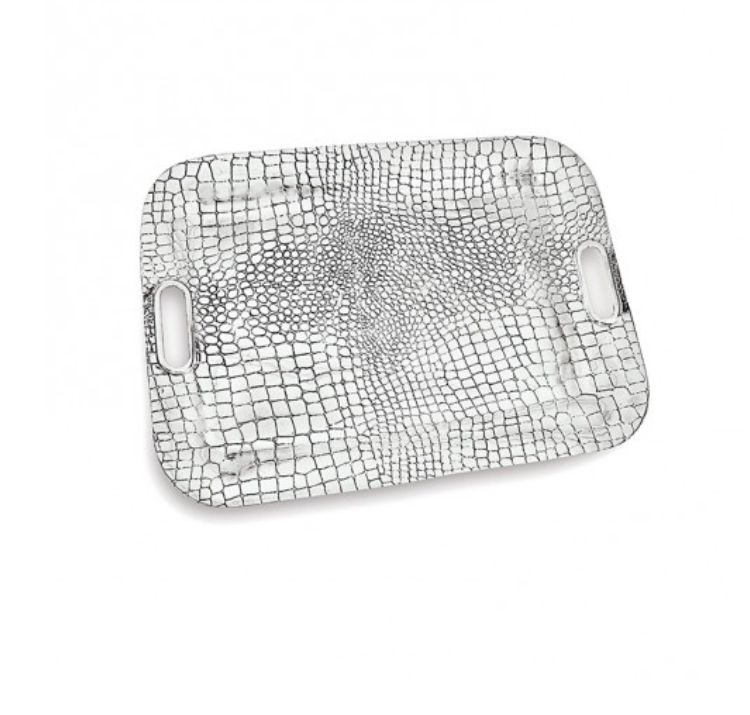 CROC Rectangular Tray with Handles  - EXTRA LARGE