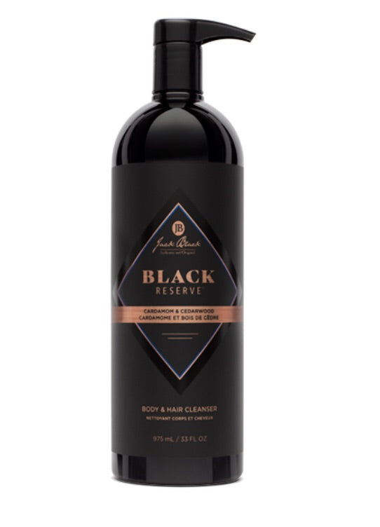 Jack Black Black Reserve Body & Hair Cleanser