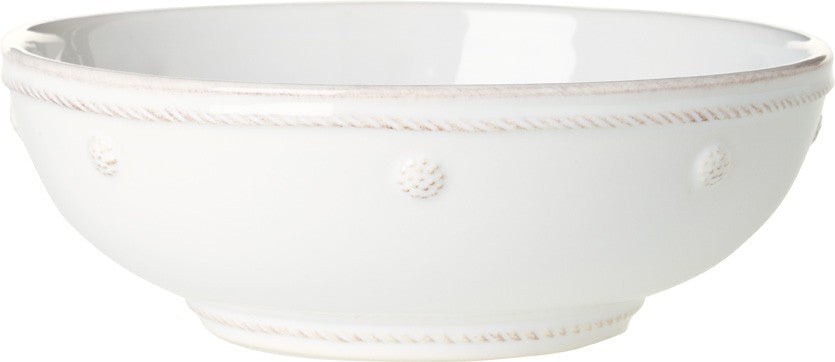Berry & Thread Whitewash Coupe Pasta Bowl 7.75