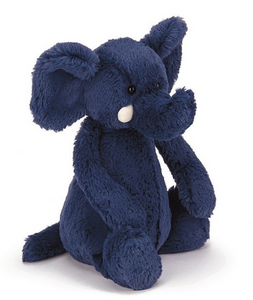 Jellycat Bashful Medium Blue Elephant