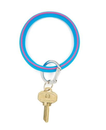 Big O Key Ring-Peacock