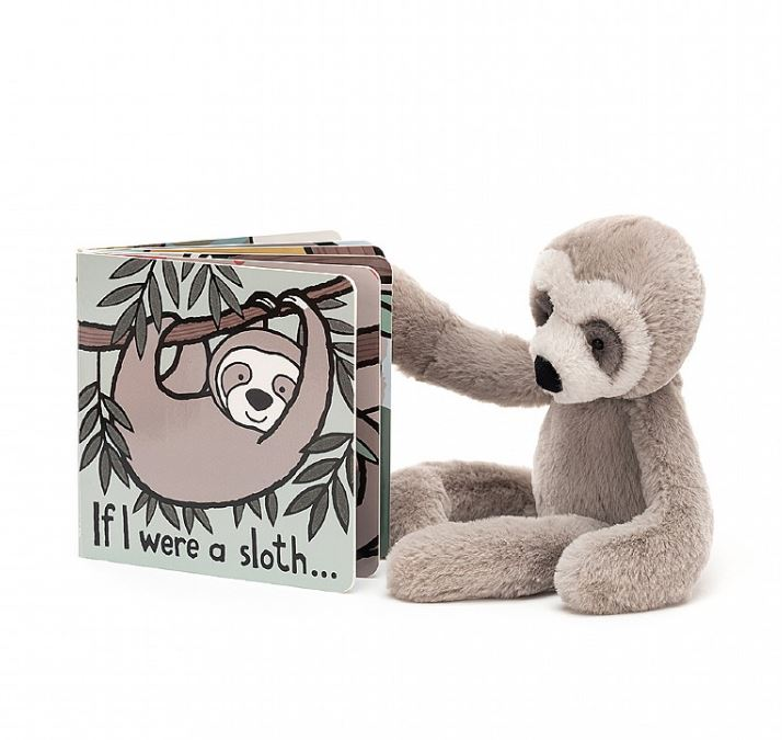 If I Were A Sloth Book And Bailey Sloth