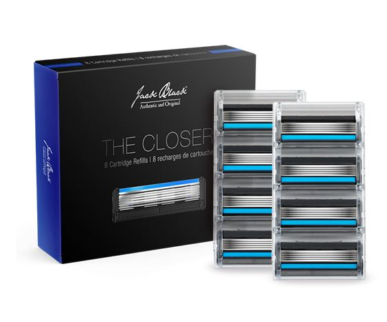 Jack Black |The Closer® 5-Blade Cartridge Razor Refills
