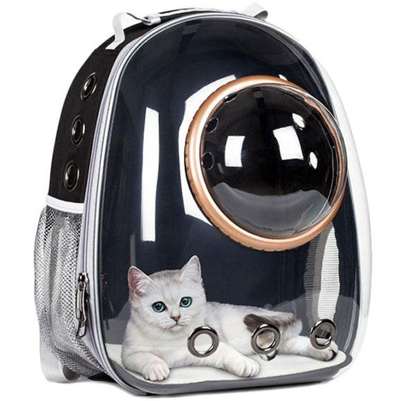 Astronaut Space Capsule Transparent Pet Carrier Backpack