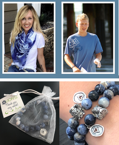 Graduation/Mother's Day Bundle - 2 Bracelets and a Travis Scarf