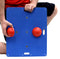"CanDo Balance Board Combo™ 15"" x 18"" wobble/rocker board"
