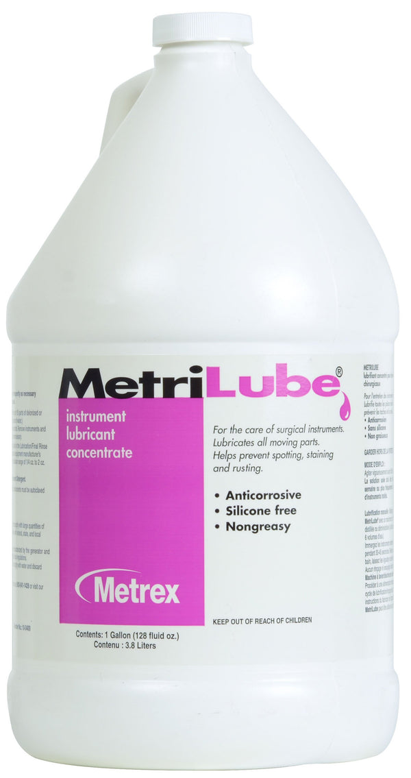 Metrilube Instrument lubricant concentrate - 1 Gallon, 4/box