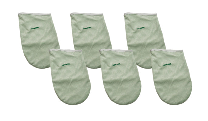 Terry Hand Mitts, 6 pairs/bx