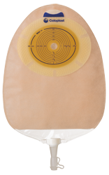 SenSura®: Flat 1-Piece MIDI Urostomy Pouch, Standard Wear, 10/bx (4565521989745)