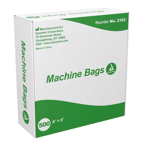 "Machine Bag, 5"" x 5"", 500/BX"
